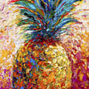 Pineapple Expression Art Print