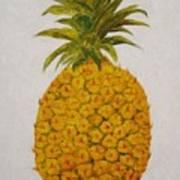 Pineapple Princess Art Print