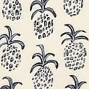 Pineapple Print Art Print