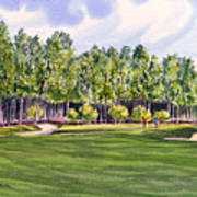 Pinehurst Golf Course 17th Hole Art Print