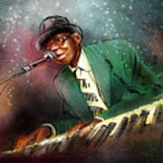 Pinetop Perkins Art Print
