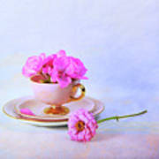 Pink Attitude Art Print