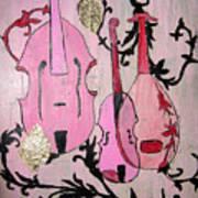 Pink Baroque Art Print