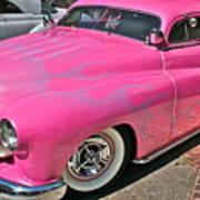 Pink Bomb Art Print