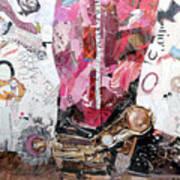 Pink Boot 2 Art Print