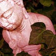 Pink Buddha Love Art Print