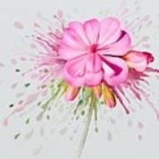 Pink Eruption Art Print