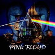 Pink Floyd Montage Art Print