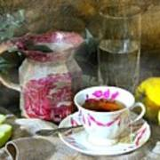 Pink For Tea Art Print