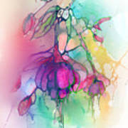 Pink Fuchsia Art Print