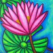 Pink Gem 1 Art Print