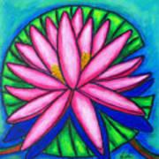 Pink Gem 2 Art Print