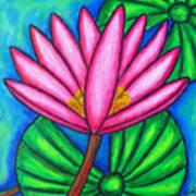 Pink Gem 3 Art Print