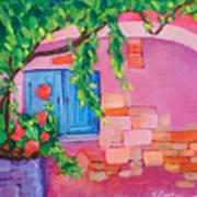 Pink Home Art Print
