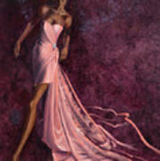 Pink Prowl Art Print
