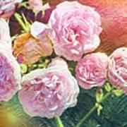 Pink Rose Artwork Art Print