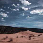 Pink Sand Dunes Np Art Print