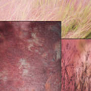 Pink Textures 2 Art Print