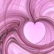 Pink Valentine Art Print