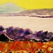 Pinnacle Mountain...arkansas River Art Print