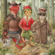Pinocchio01 Art Print