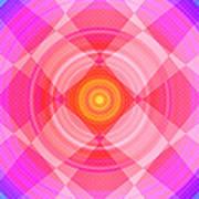 Pinwheel In Motion Art Print