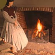 Pioneer Fire Impressions Art Print