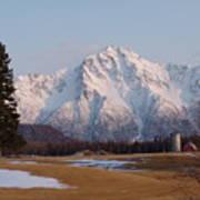 Pioneer Peak Alaska Art Print