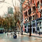 Pioneer Square Art Print
