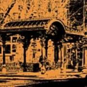 Pioneer Square Pergola Art Print