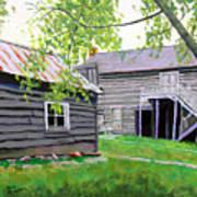 Pioneer Village I Art Print