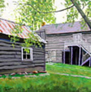 Pioneer Village One Art Print