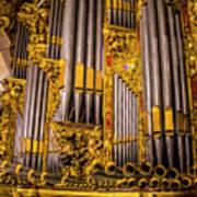 Pipe Organ Detail Art Print