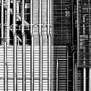 Pipes And Metal - Leeds Art Print