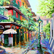 Pirates Alley - French Quarter Alley Art Print