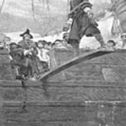 Pirates: Walking The Plank Art Print by Granger