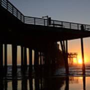 Pismo Beach Pier California 2 Art Print