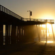 Pismo Beach Pier California 8 Art Print