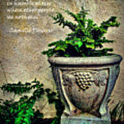 Pissarro Inspirational Quote Art Print
