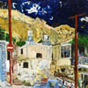Pissouri Village Art Print