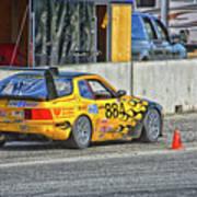Pist 'n Broken Racing Art Print