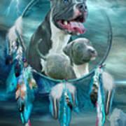 Pit Bulls - Rez Dog Art Print