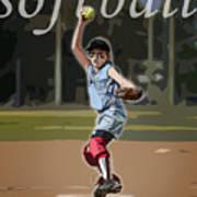 Pitcher Art Print