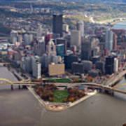 Pittsburgh 8 In Color  Art Print by Emmanuel Panagiotakis