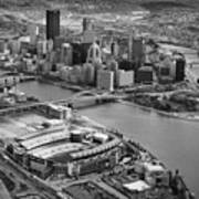 Pittsburgh 9 Print by Emmanuel Panagiotakis