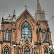 Pittsburgh Cathedral Art Print by David Bearden