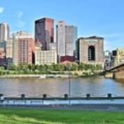 Pittsburgh Pa Panoramic Art Print