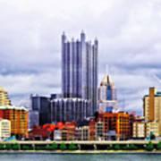 Pittsburgh Pa Skyline Art Print