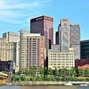 Pittsburgh Panorama June 2017 Art Print