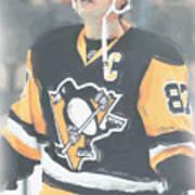 Pittsburgh Penguins Sidney Crosby 3 Art Print
